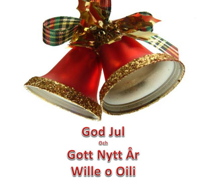 God Jul, Wille & Oili!